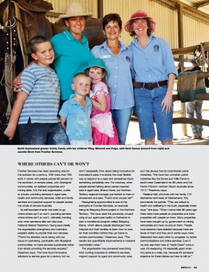 R.M. Williams OUTBACK Magazine – 'Health Matters'