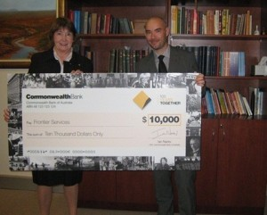 Commonwealth Bank celebrates Centenary with Frontier Services