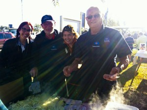 Great Outback BBQ lights up at Birdsville Races