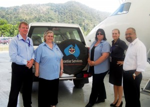 Skytrans partners with Frontier Services for remote families