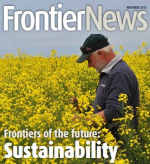 Frontiers of the future: sustainability