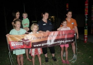 First Emerald Great Outback BBQ a Flaming Success