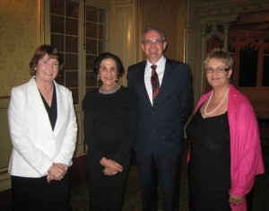 Governor hosts reception for Frontier Services