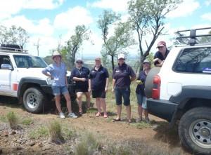 The Frontier Services RAFS teams get Rocky