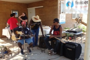 Great Outback BBQ fun in Roebourne