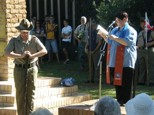 Resurrection blessings and Anzacs remembered
