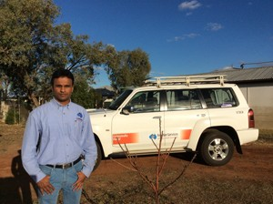 On the Sunny side of Cunnamulla