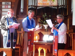Fond Farewell for Rev Gay Loftus