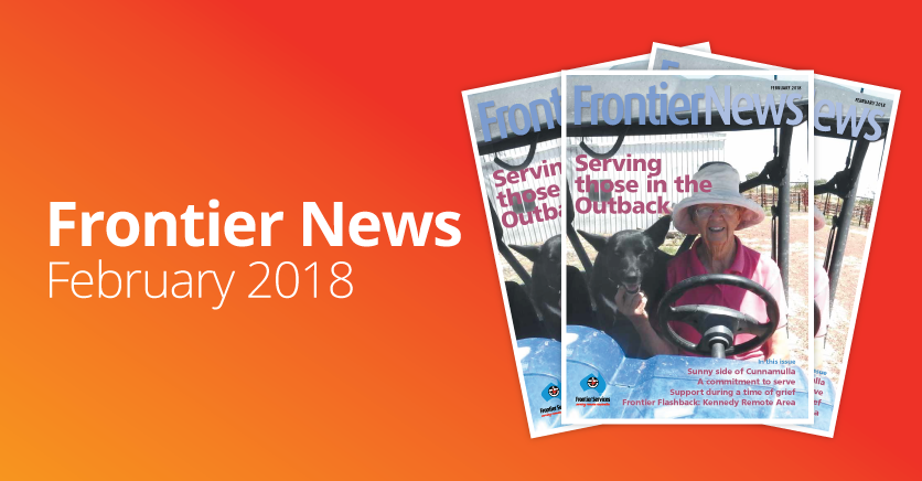Frontier News – Our February 2018 edition – out now!