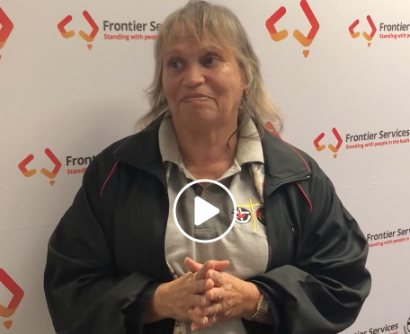 Auntie Dianne Torrens - Frontier Services Board Member - UAICC - National Reconciliation Week