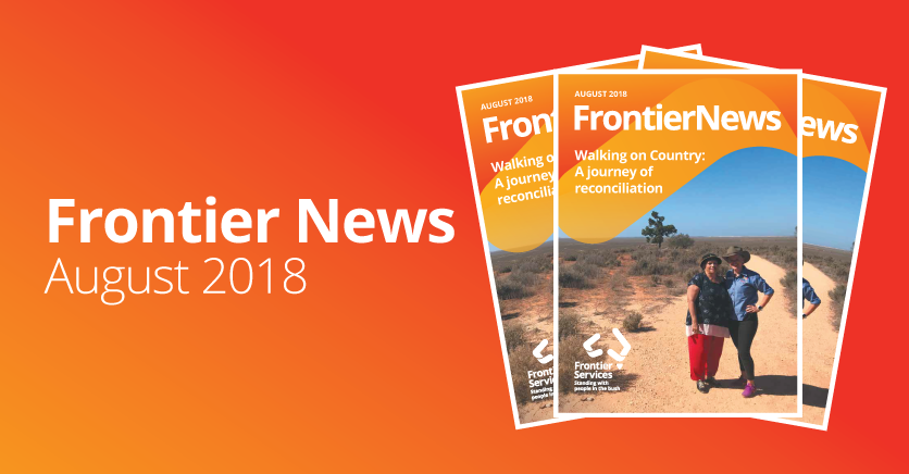Frontier News – Our August 2018 edition – Out Now!