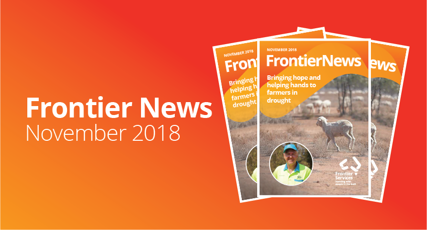 Frontier News – Our November 2018 edition – Out Now!