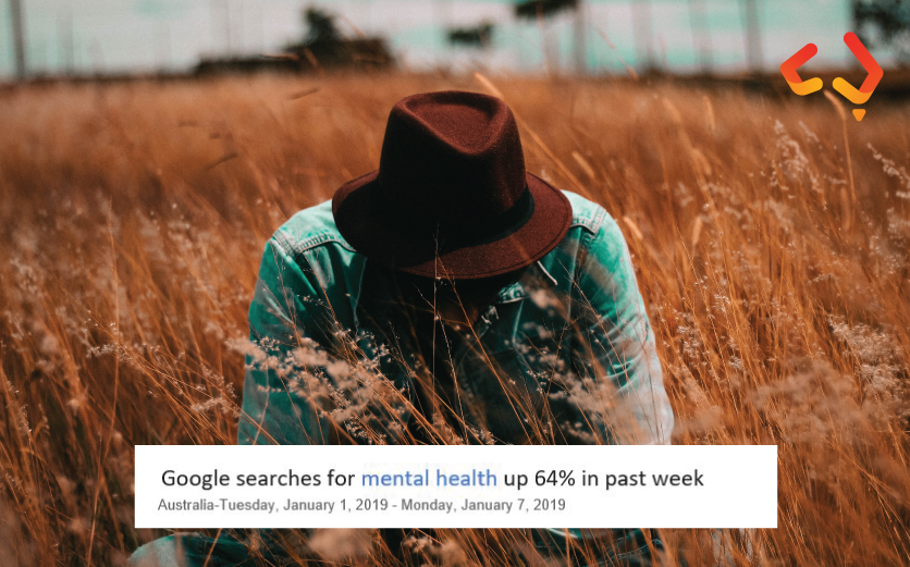 Google searches for mental health up 64% in past week