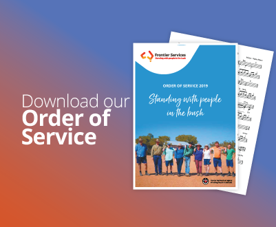 Frontier Services - Order of Service
