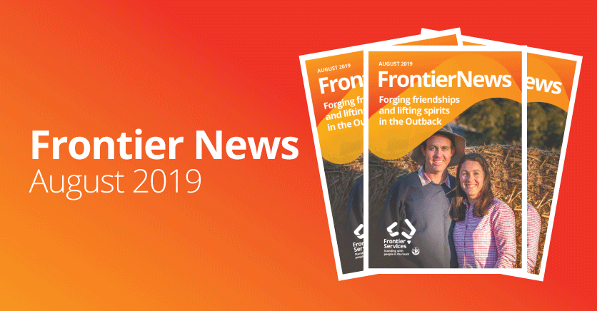 Frontier News – Our August 2019 Edition