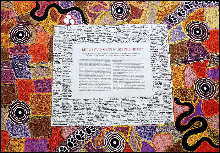 Uluru Statement From The Heart canvas