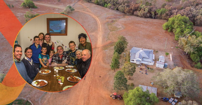 Volunteers bring friendship, respite and hope to the bush