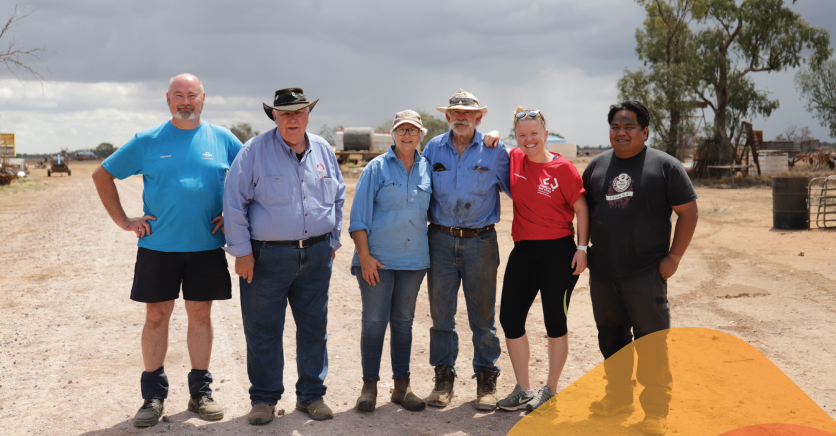 Teaming up with the NRMA in support of farmers in drought