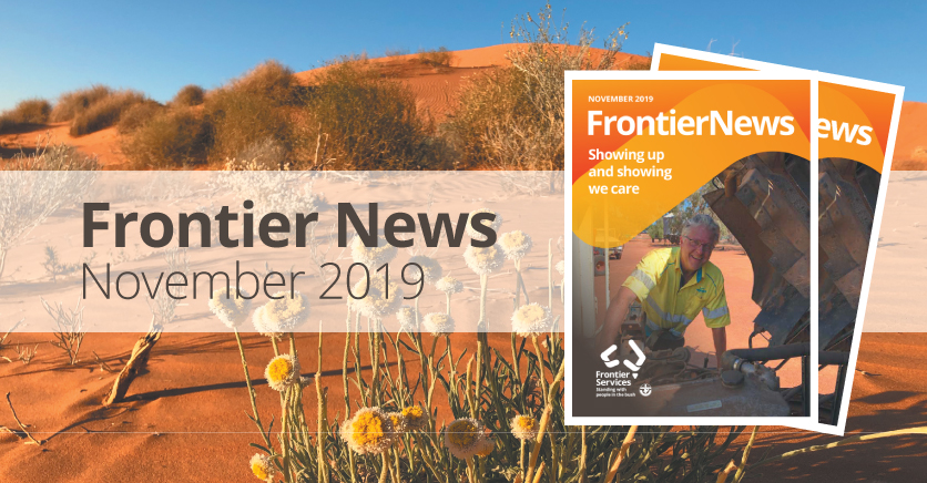 Frontier News – Our November 2019 Edition