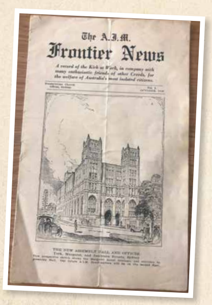 Ninety years of Frontier News