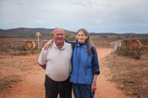 Farmers, Muriel and Allan